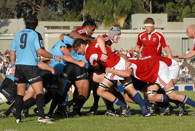 Rugby: Teros vs. Aguilas November 2009