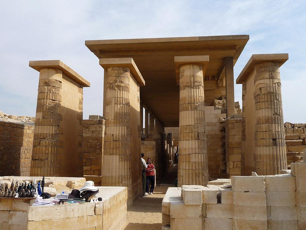 Hypostyle Hall, Zoser's Mortuary complex, Saqqara