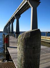 Governor Thomas Johnson Bridge Pier