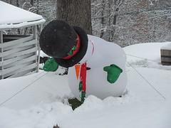 Snowman Rising