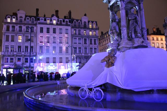 foto Festa delle luci a Lione