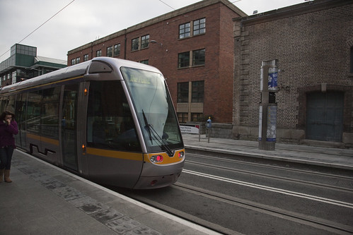 Luas Tram - George's Quay (new stop) by infomatique