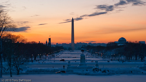 National Mall at Snowset