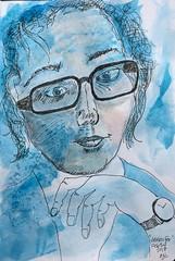 'Jennifer' in Blue