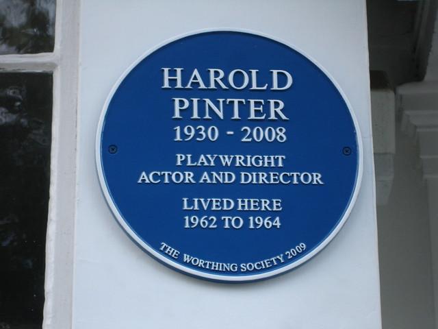 Header of Harold Pinter