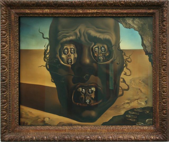 Salvador Dali - Le visage de la Guerre