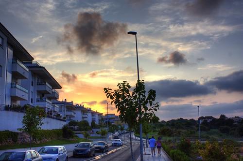 Crepúsculo en Pilar de la Horadada (Alicante)