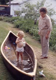 Grandma Gilmour and Geoffrey