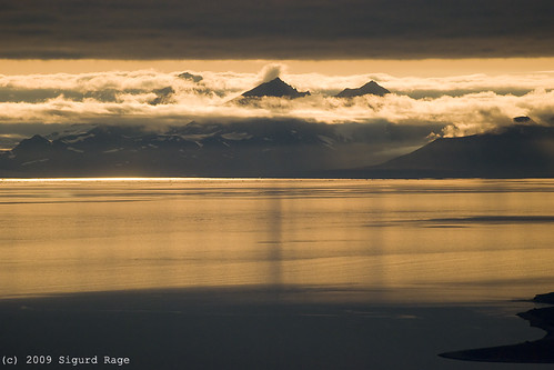 sunset landscape nikon svalbard spitsbergen solnedgang d60 beautifulearth isfjord adventsdalen syltoppen