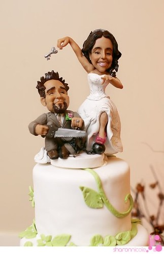 Ball And Chain Cake Topper Www Idocaketoppers Com Ball