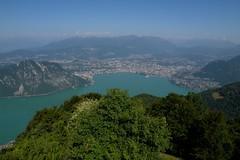 2009 7 16 Lanzo d'Intelvi, la Sighignola vista sul Lago di Lugano e Lugano 0518