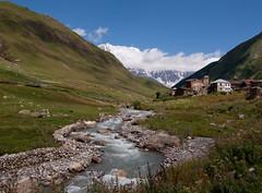 River Near Ushguli/Upė prie Ushguli