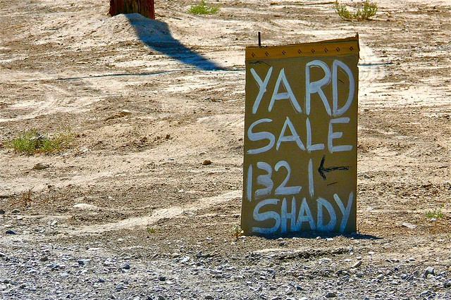 Yard Sale Today!