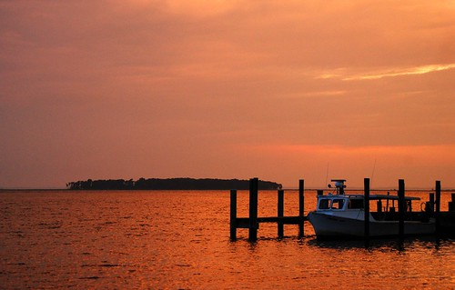 ocean sunset red orange water marina maryland boar chesapeakebay loweswharf