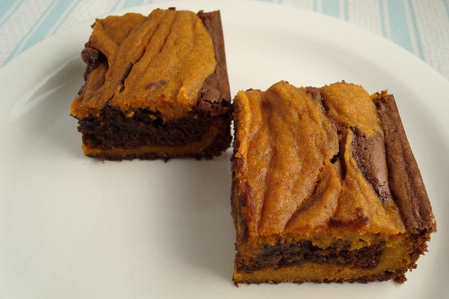 Pumpkin Swirl Brownies | Flickr - Photo Sharing!