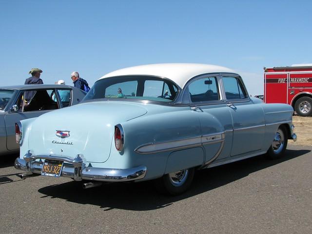 1954 chevrolet bel air 4 door sedan 39 msj 322 39 2 flickr for 1954 chevy belair 4 door