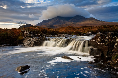 Sligachan waterfalls