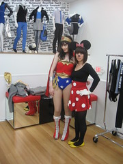 Minnie and Wonder Woman