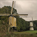 Dutch Windmills in Fall by Foto Martien