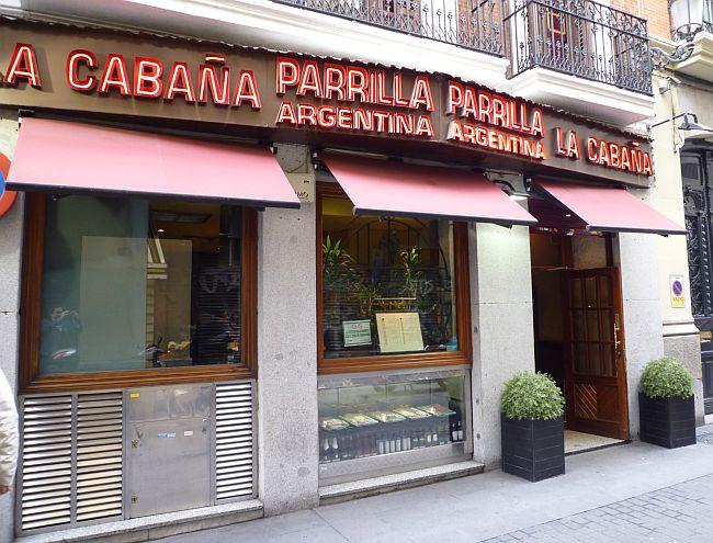 Restaurante la caba a parrilla argentina en madrid - Parrillas argentinas en madrid ...