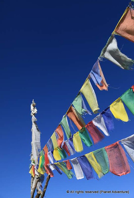 Prayer Flags - Annapurna Circuit Trek - Nepal