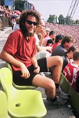 At the Munich soccer statium
