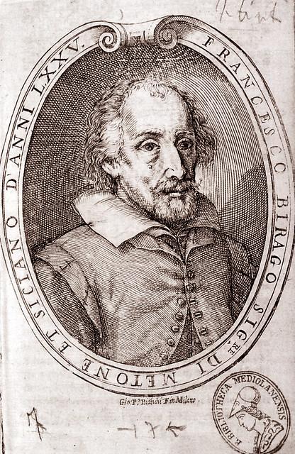 Portrait of Francesco Birago, Giovan Paolo Bianchi, Milan, Braidense Library