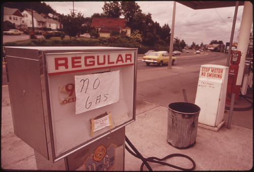 Gas Shortage 06/1973