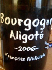 Add a photo for Francois Mikulski Bourgogne Aligote 2006