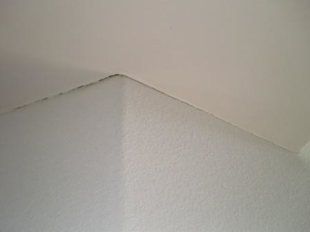 how to fix cracks in gyrock ceiling