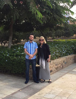Thu, 02/09/2017 - 18:10 - Josephine Kearney of GCC and Joseph Elgemayel of American University of Technology in Byblos, Lebanon, partners in a new COIL project