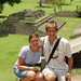 Audrey and Dan at Copan Ruins - Copan Ruinas, Honduras
