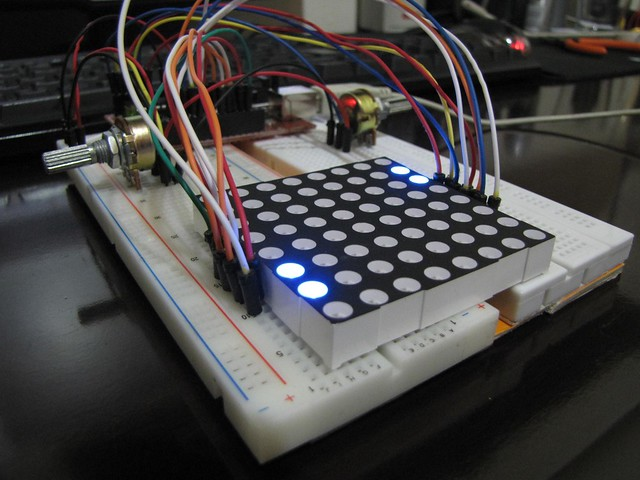 08 8x8 Matrix Adafruit LED Backpacks Adafruit