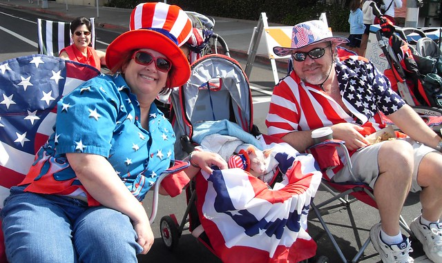 Sphynx Cat Boo Redwood City 4th of July Parade