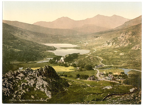 [Capel Curig and Snowdon, Wales] (LOC)