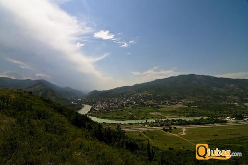 Krajobrazy w Gruzji - Kazbegi