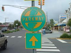 Garden State Parkway trailblazer