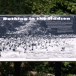 BATHING IN THE HUDSON Photo, Palisades Interstate Park, New Jersey