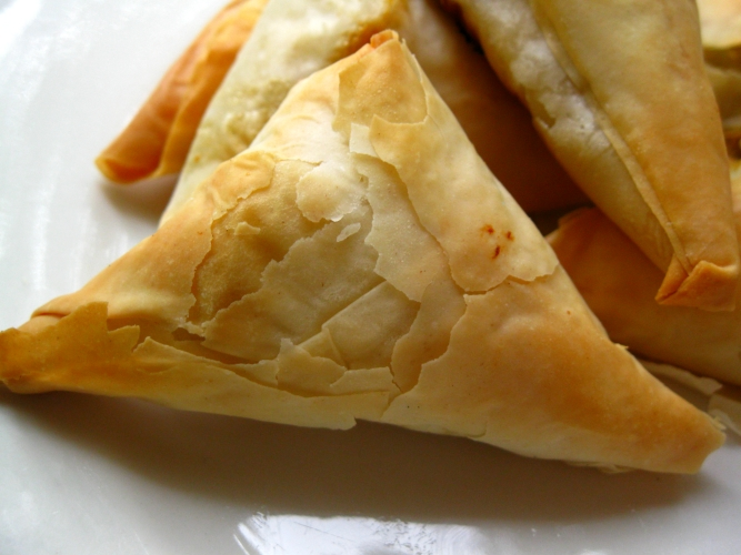 Chicken Spanakopita