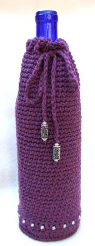 Wine Bottle Cozy Knitting Pattern : Wine Bottle Cozy Flickr - Photo Sharing!