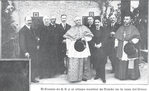 La inauguraci n del monumento a el greco en 1914 toledo Comisiones obreras ensenanza toledo