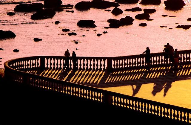 Shadows in Mascagni terrace