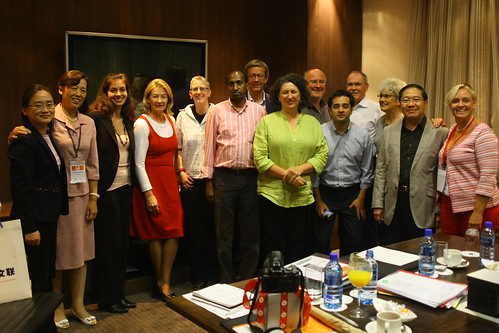 IFACCA board and secretariat staff, 4th World Summit on Arts & Culture