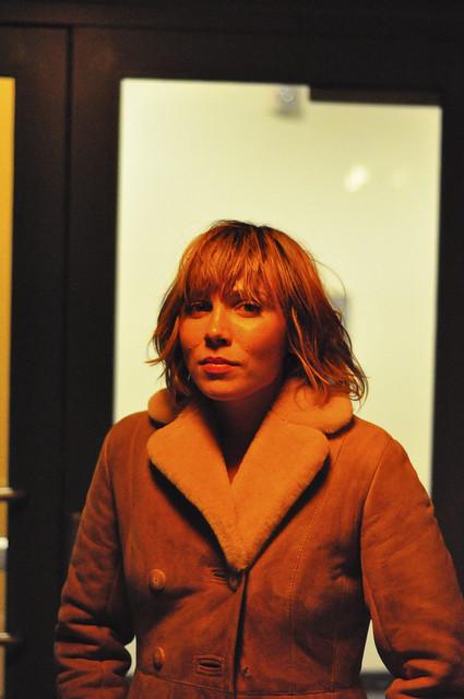 christina, serious woman