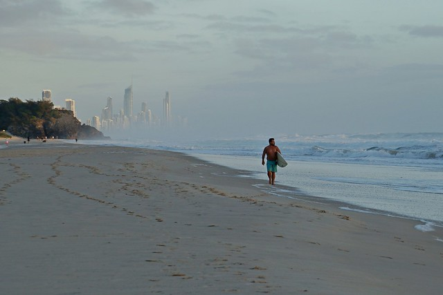 Gold Coast at sunrise