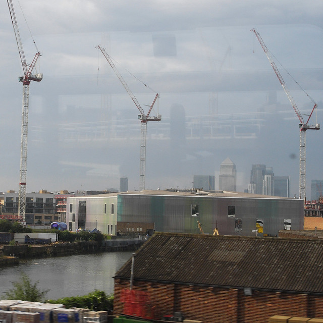 london from train