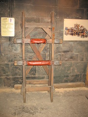 The Whipping Bench, The Clink Prison Museum, Bankside, London