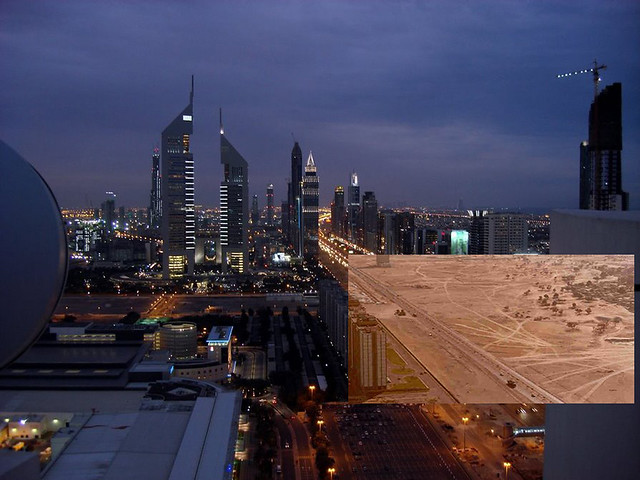 Looking Into The Past - Dubai, Sheikh Zayed Road