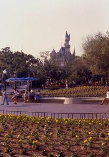 Cinderella Castle, Disneyland, 1979