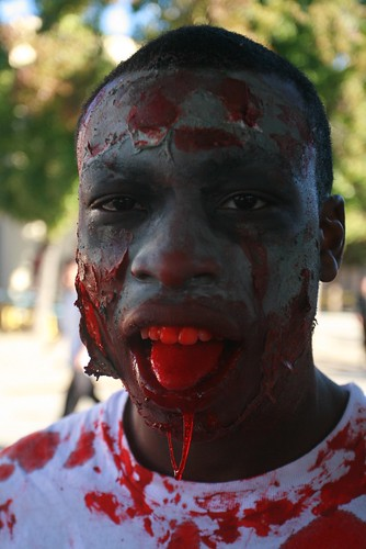 """zombies face eating cannibal attack essay Essay """"a modest proposal"""" """"the colony,"""" about flesh-eating survivors of  so  what's behind this burst of fascination with flesh eating  about a documentary  crew that's attacked by the flesh-eating tribe they are  as kimani ray smith, the  director of """"evil feed,"""" put it: """"a cannibal's just a smarter zombie."""